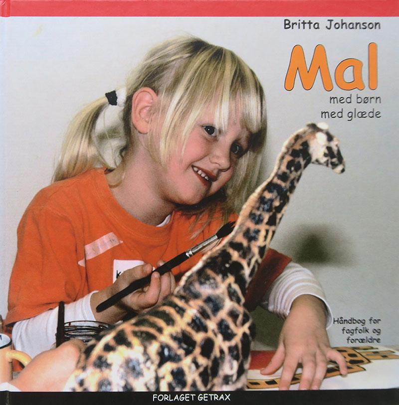 Britta Johanson Mal med børn med glæde